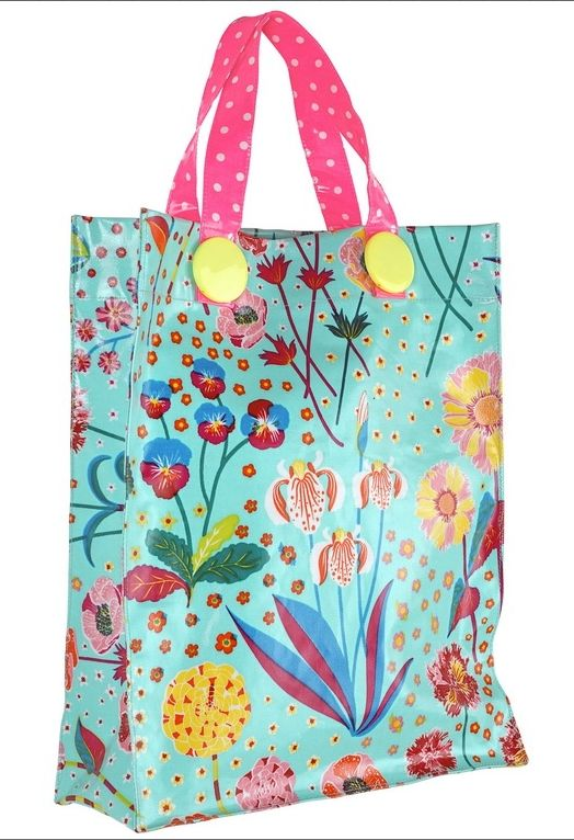 Bag in laminated cotton