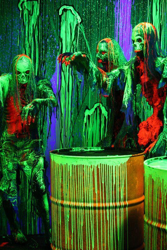 89 best haunted house black light room images on Pinterest | Black ...