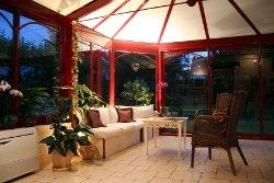 Véranda avec chauffage réversible Label vert #veranda