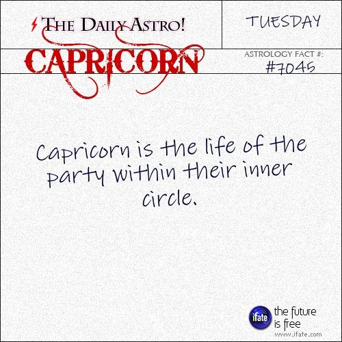 Capricorn Daily Astro!: Check your Capricorn horoscope now.  Visit iFate.com today!