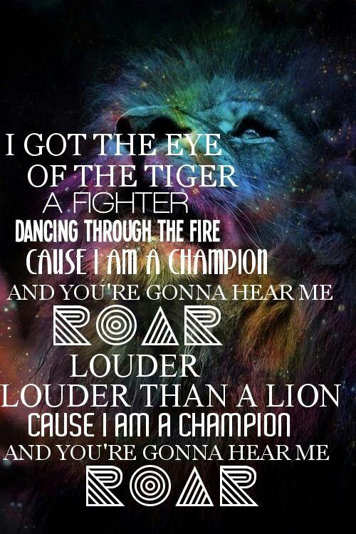 Roar - Katy Perry. ❤