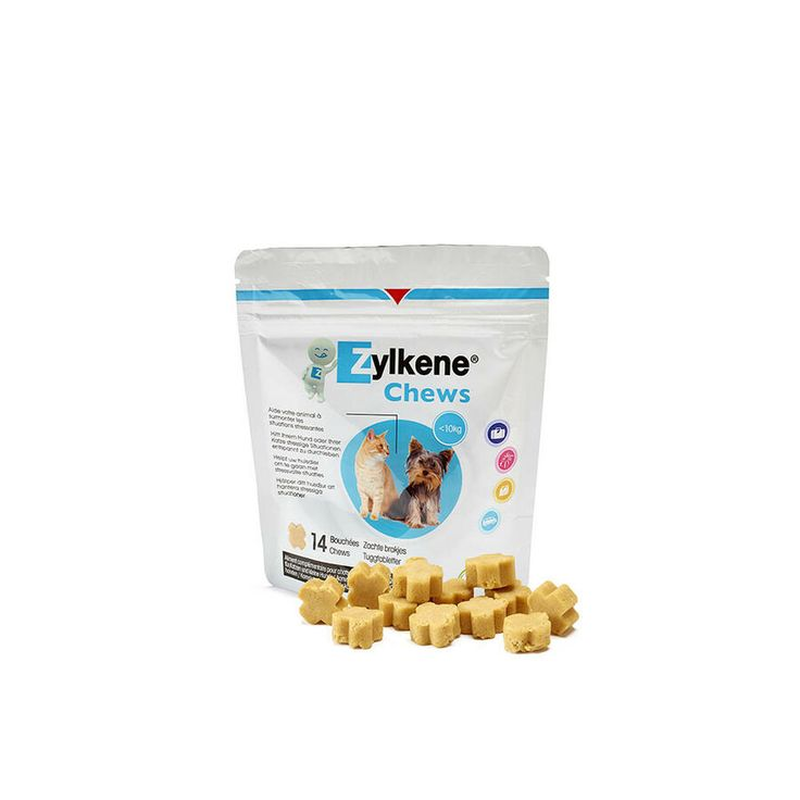 Zylkene Chews For Small Dogs And Cats Under 10kg Premium Service Fast Dispatch Ebay Small Dogs Dog Cat Interactive Dog Toys