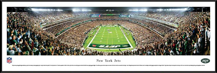 New York Jets Panoramic - New Meadowlands Stadium Picture - End Zone