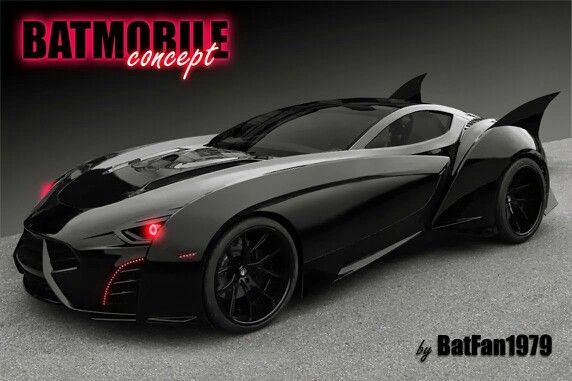 Batmobile Concept Car