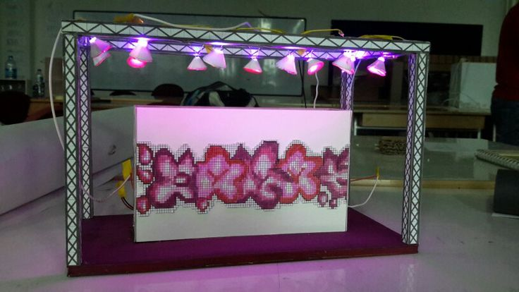 SEPHORA  POP UP STORE PROJECT : Everybody's beautiful Pixelated eye shadow THEME: RADIANT ORCHID COLOR OF 2014