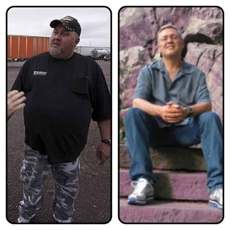 This Is The Before And After Of Truck Driver Phil Staples