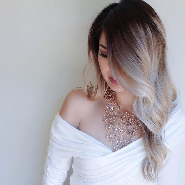 https://instagram.com/thy.time/ - Looove this ombre. Love dark roots to light ends, on long or short hair.  I really want to do this on my LOB!