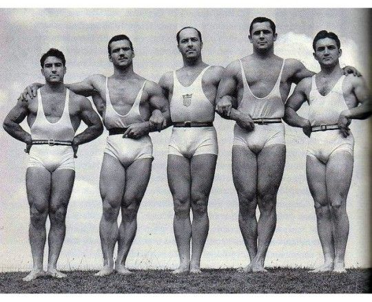 Olympic Weightlifting team 1950s It\u0027s Universal, Mister