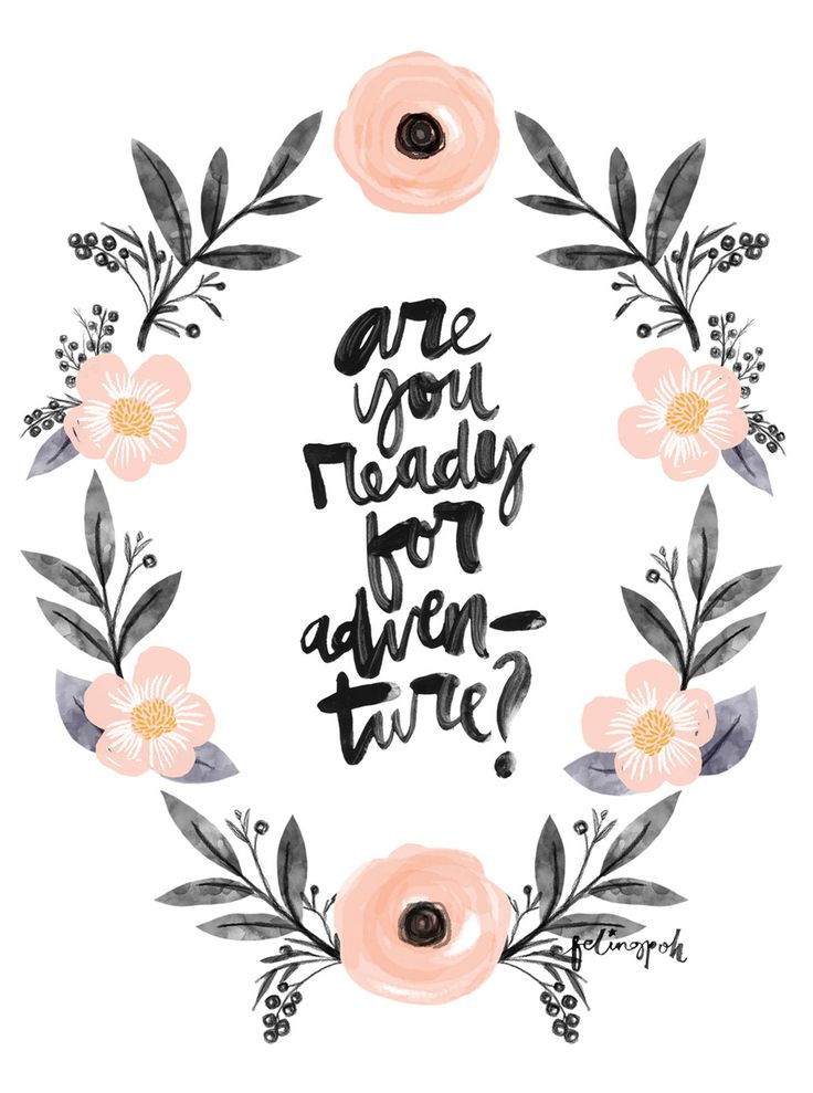 Are you ready for adventure? | Modern Hepburn Tumblr, October 2014