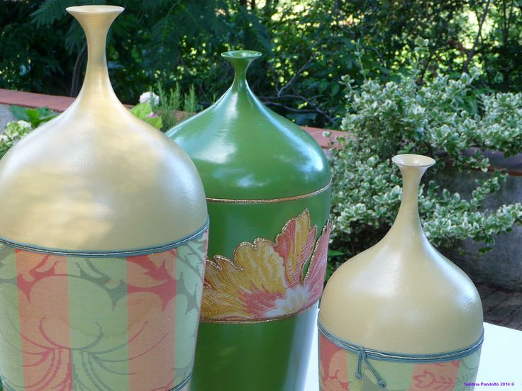 vasi con decorazioni in stoffe (36)