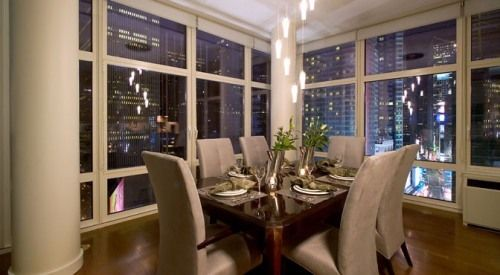 Luxury apartment in Time Square