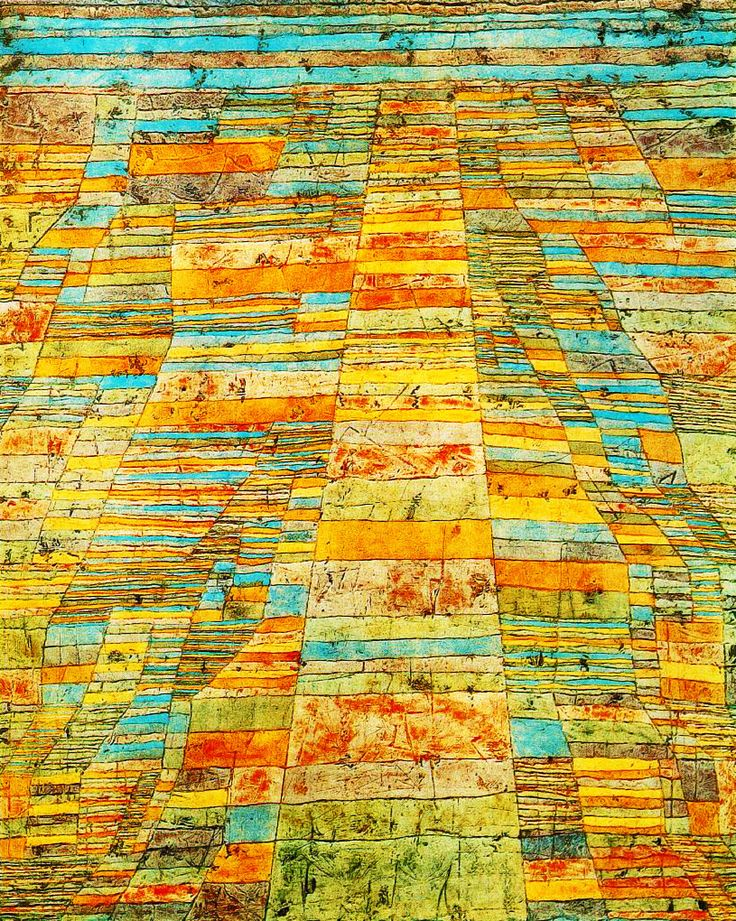 PAUL KLEE. Highway And Byways. 1929.
