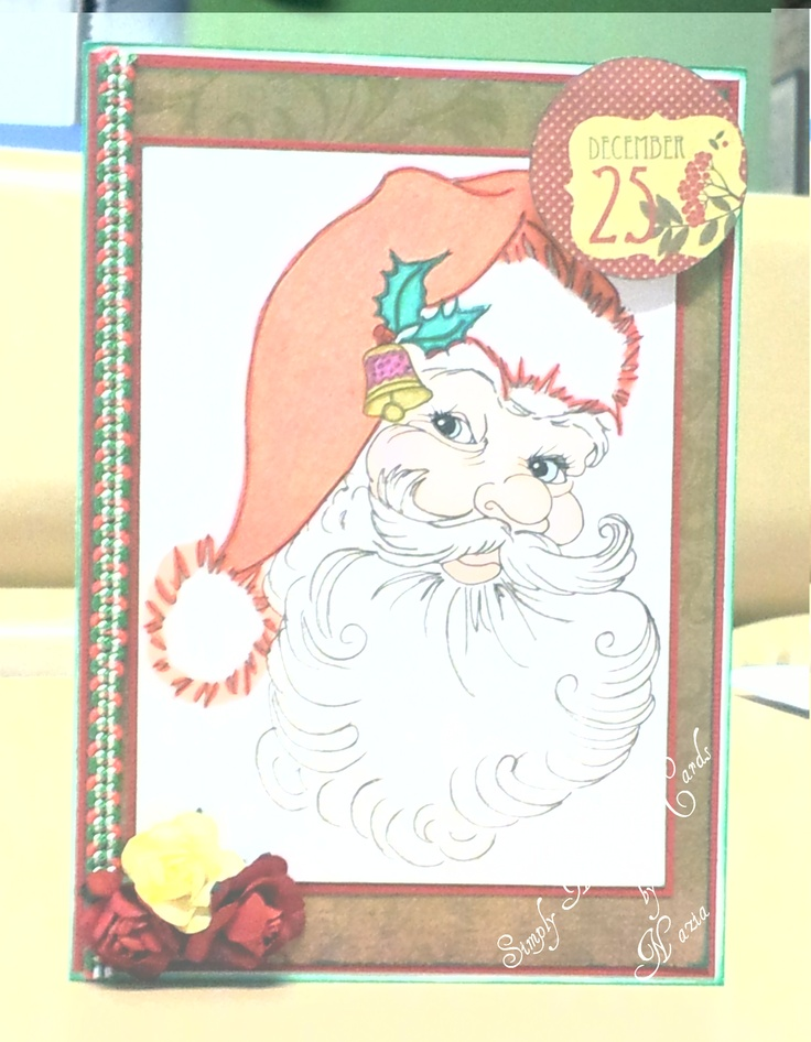 Christmas Card - image from Scrapbook Stamp Society