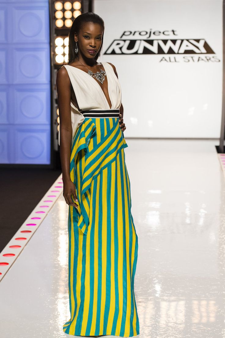 Dom Streater. 'Project Runway All Stars' Week 7 Recap: 'Bait and Stitch' (photo gallery) | cleveland.com