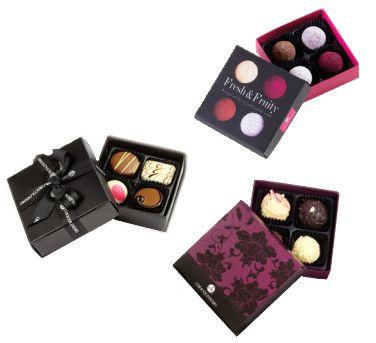 Prezent na pierwszą randkę: Gustowne czekoladki