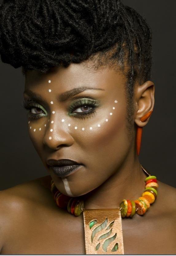 maquillaje de ojos africano - Buscar con Google