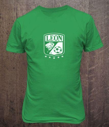 Club-Leon-De-Mexico-Futbol-T-Shirt-Camiseta-Liga-MX