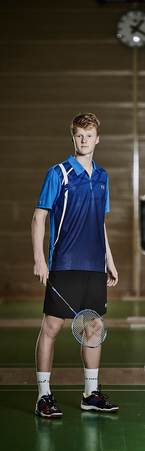 Anders Antonsen one of our amazing FZ FORZA players. Predicted as one of Europe's biggest single talents!