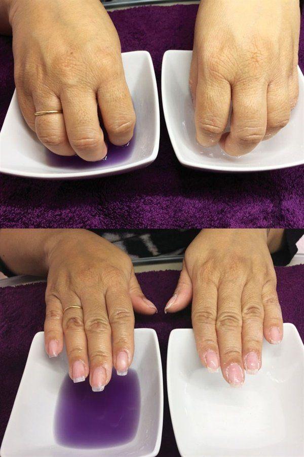 A Healthy Way To Soak Off Acrylics And Gel Polish Remove Acrylic Nails Take Off Gel Nails Soak Off Acrylic Nails