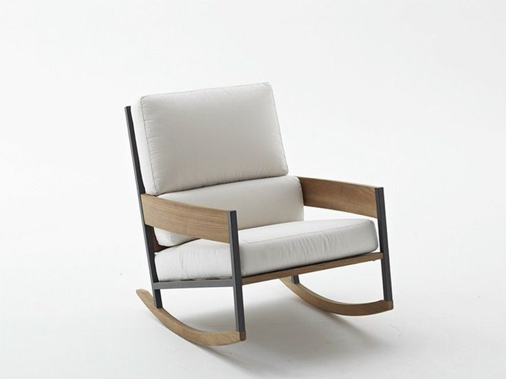 Download the catalogue and request prices of Nap | rocking garden armchair by Roda, rocking garden armchair design Gordon Guillaumier, Nap collection