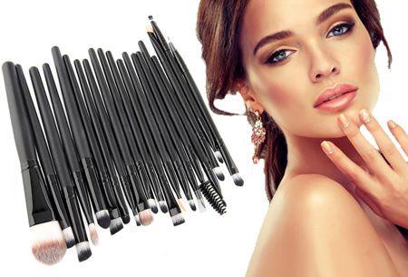 20-delige professionele make-up kwasten set nu slechts €9,95 | Voor een perfecte look!