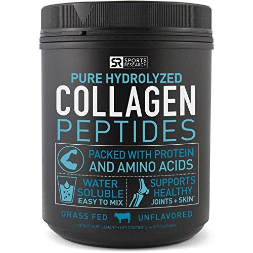 Premium Collagen Peptides (16oz) | Grass-Fed Supplements