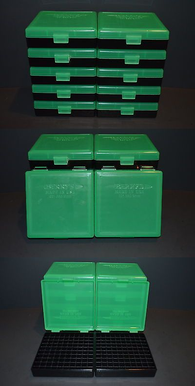 Holders and Boxes 71116: 9Mm / 380 (10 Pack) Plastic Storage Ammo Boxes (Zombie Green) Berrys Mfg. -> BUY IT NOW ONLY: $37.5 on eBay!