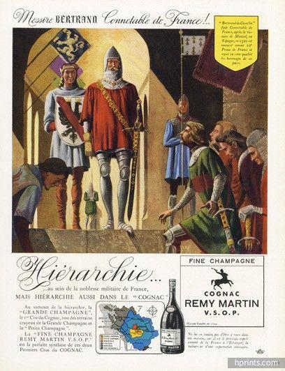 Cognac remy martin messire bertrand conn table de france for Bertrand remy