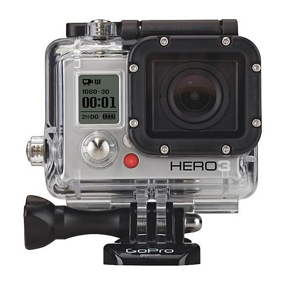 GoPro Hero 3: Strap it to a bike, a helmet, a surfboard.  Great gift for active friends/family.