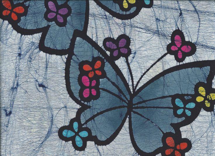 "Cotton Kimono ""Fun Butterflies"" http://www.kesarankimonofabric.com/"