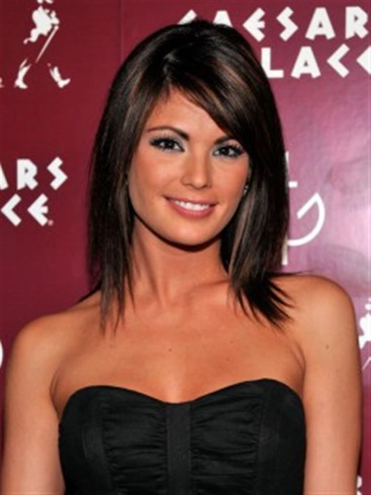 Bing : Medium Long Hair Cuts I like the subtle high/ low lights