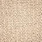 Carpet Sample - Paradise - Color Champagne Fizz Texture 8 in. x 8 in.
