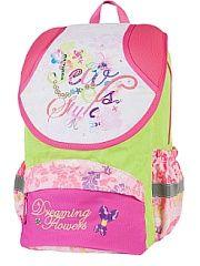 Рюкзак Цветы мечты Target.  Все изделия Target Collection сделаны из высокачественного и прочного полиэстера. В ассортименте Вы можете найти рюкзаки или сумки как девочек так и для мальчиков. Детские рюкзаки Target - легкие прочные а сумки для школы - это самобытные яркие и эффектные аксессуары которые внесут радостную нотку в монотонные учебные будни. Выполненные из влагонепроницаемой прочной ткани они прослужат своим обладателям очень долгое время рисунки не сотрутся и не выцветут а…