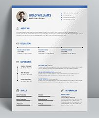 Resume Template Peter Parker  Resume    Template