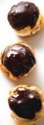 Profiteroles : Choux Pastry Puffs with Thermomix
