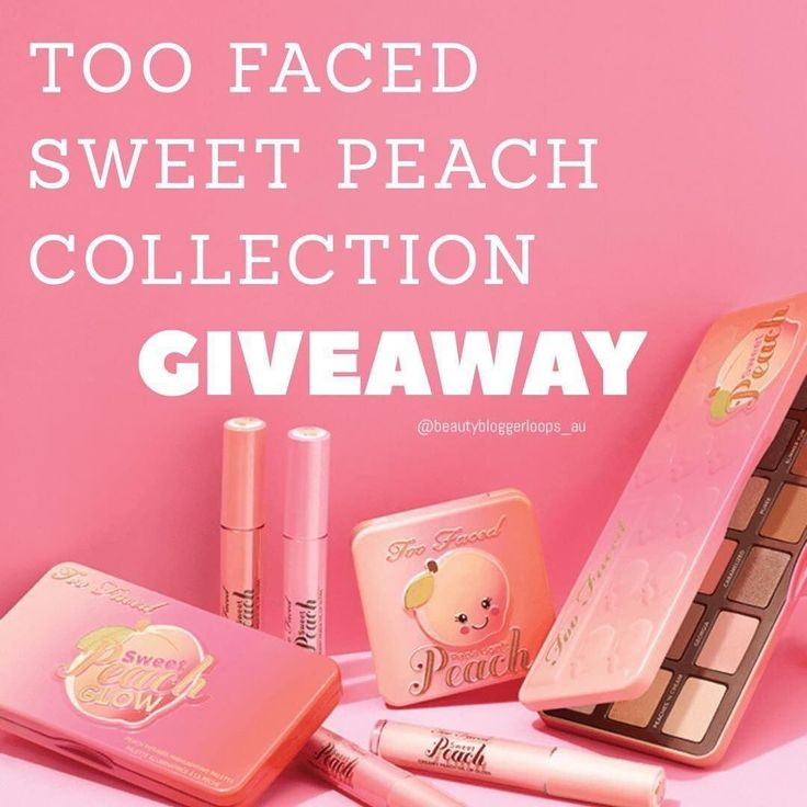 SWEET PEACH LOOP GIVEAWAY   I've partnered up with some of my favourite bloggers to bring you this amazing giveaway! Wouldn't you just love to win the @toofaced sweet peach collection?  GO ENTER! It could be you that wins!  Go to ----> @thatbloggerjade . HOW TO ENTER.) . 1.) FOLLOW ME . 2.) LIKE this post (we always double check) . 3.) FOLLOW @thatbloggerjade and go to their page next. (When you make it back here you've completed the loop! must follow everyone in the loop) . 4.) COMMENT your…