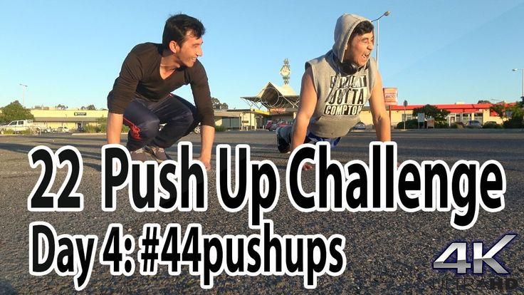 Day 4 | #44pushups for #22KILL | 22 days & 1, 111 Pushups for #22kill | ...