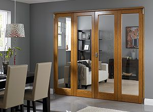 Internal Folding Sliding Doors Room Dividers