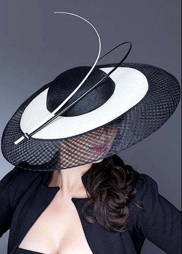 Guibert Millinery, Silver Screen Collection This matches a blazer I have and with a black pencil skirt... YES! I want it! http://pinterest.com/fancybt/boards/