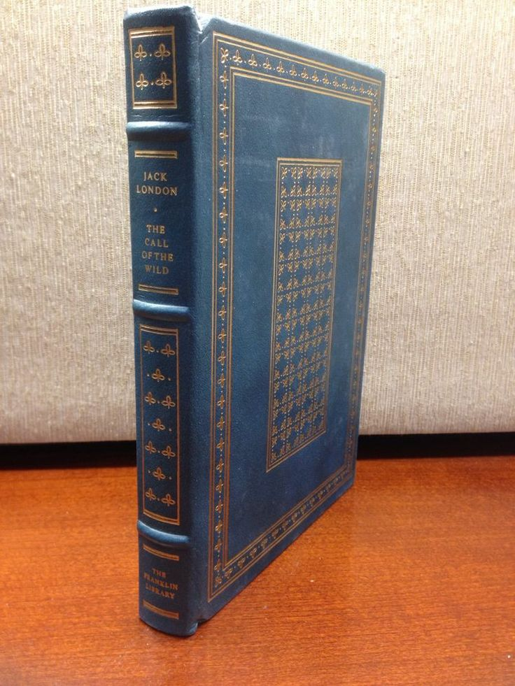 Call of the Wild Jack London Franklin Library Full Leather 100 Greatest Books