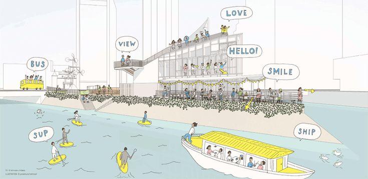 福岡の新しいランドマークに!水上公園が生まれ変わる