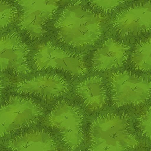 How To Make Pixel Grass In Paint