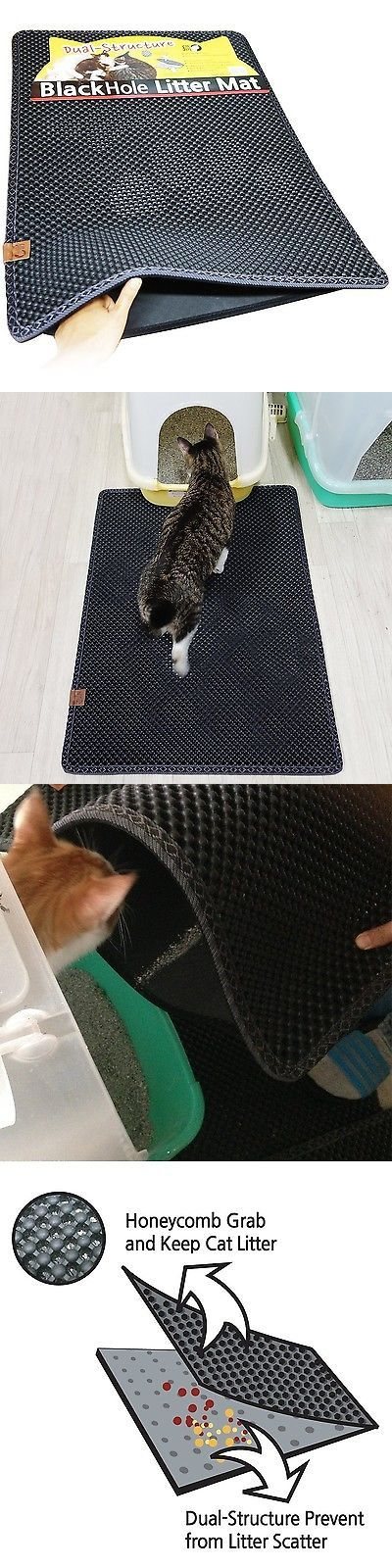 Litter 116363: Blackhole Cat Litter Mat - Super Size Rectangular 30 X 23 - Blackhole L... New -> BUY IT NOW ONLY: $51.32 on eBay!