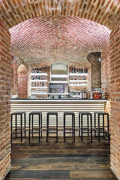 Rioja barstools at Konstantin &Friends, Munich, Germany www.konstantin-and-friends.com