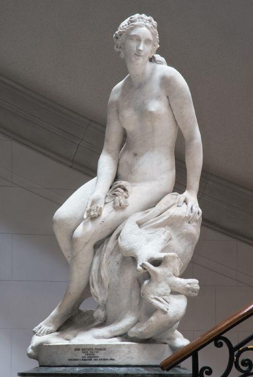 Jean-Baptiste Pigalle | Venus - 1748. © Foto: Skulpturensammlung und Museum für Byzantinische Kunst der Staatlichen Museen zu Berlin - Preußischer Kulturbesitz