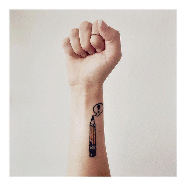 25+ Best Ideas About Pencil Tattoo On Pinterest