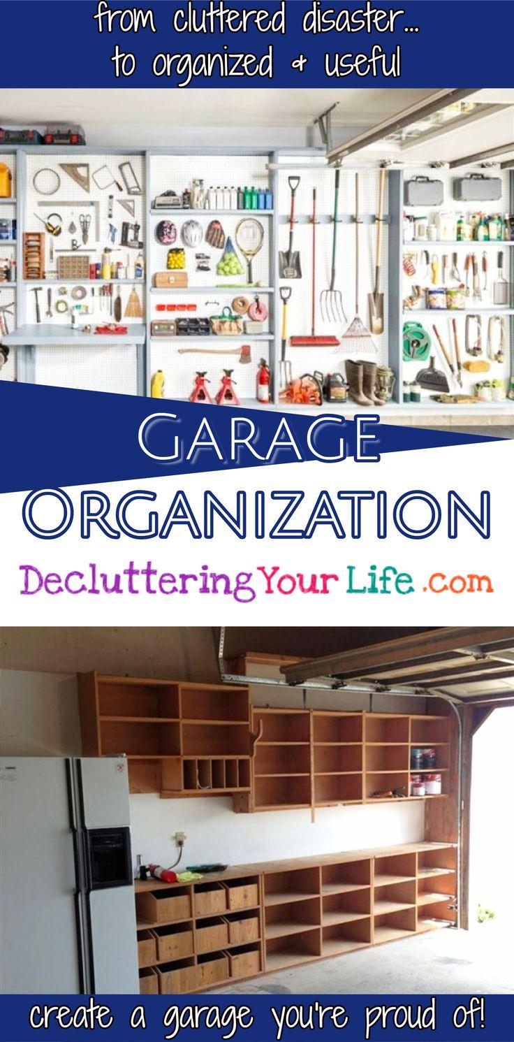Garage Organization - #garageorganization