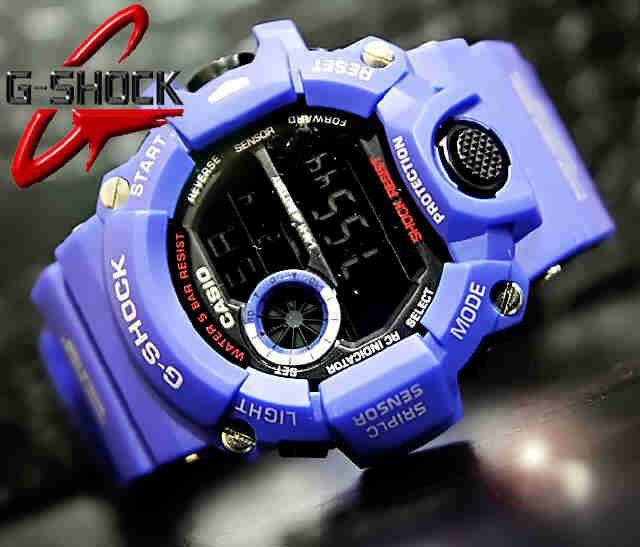 CASIO G-SHOCK RANGEMAN GW-9400 (Code: 4OS191;@219.000) Jam Tangan Pria Digital Blue Mesin Batere Size of Case: 55.2 × 53.5 × 18.2 mm  Warna sesuai gambar  Membuat penampilan AGAN tampak lebih energik, elegan, fashionable, dan berkelas.  SMS: 08531 784 7777 PIN: 331E1C6F WhatsApp Website: www.butikfashionmurah.com