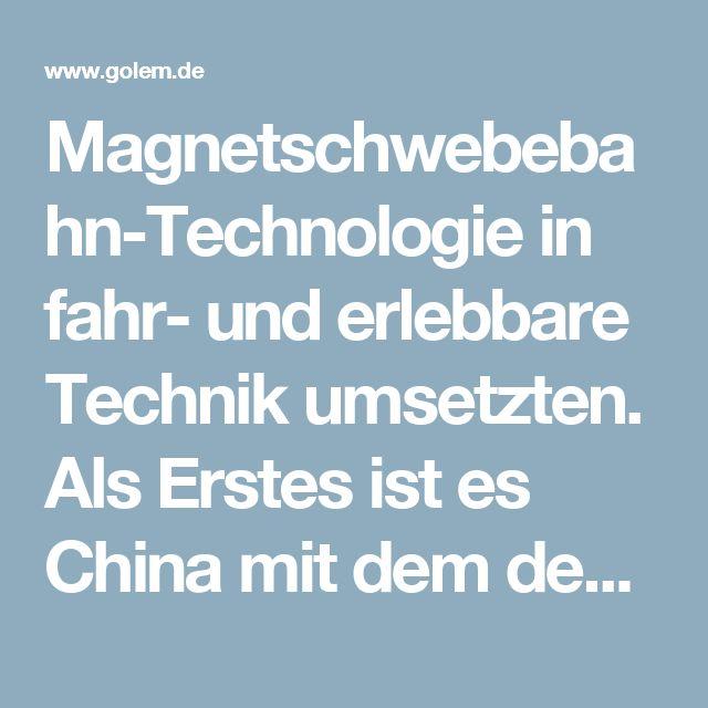 Magnetschwebebahn-Technologie in fahr- und erlebbare Technik umsetzten. Als Erstes ist es China mit dem deutschen Hochgeschwindigkeitszug Transrapid gelungen, die Technik einzuführen. Kurz darauf wurde der Linimo in Nagoya als japanische Eigenentwicklung für Nahverkehrssysteme in den kommerziellen Betrieb versetzt. Und kurz nach Südkorea hat China eine Magnetschwebebahn-Eigenentwicklung in der 7-Millionen-Metropole Changsha als Nahverkehrssystem eingeweiht.