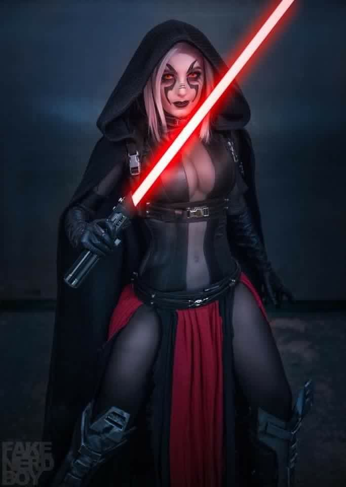 Awesome Sith cosplay